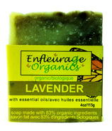 Enfleurage Organics Bar Soap Lavender