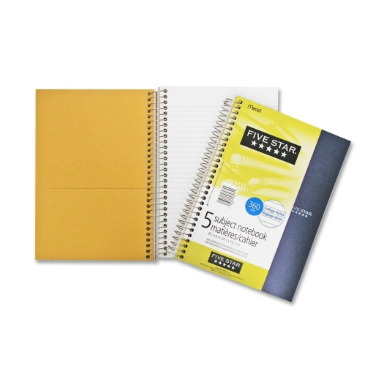 Hilroy Five Star Five Subject Notebook