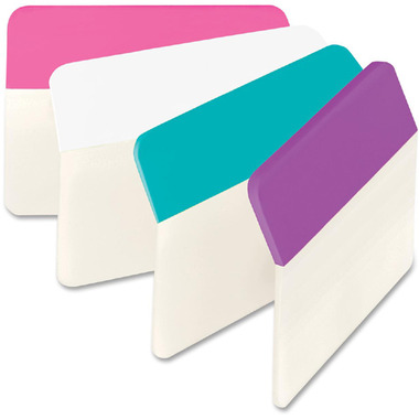 Post-it Solid Colors Angled Filing Tabs