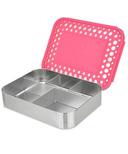 LunchBots Cinco Bento Pink Dots