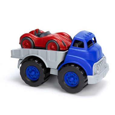 Green Toys Flatbed With Red Race Car