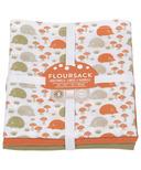 Now Designs Tea Towel Set Flour Happy Hedgehog