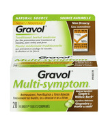 Gravol Natural Source Multi-Symptom Tablets