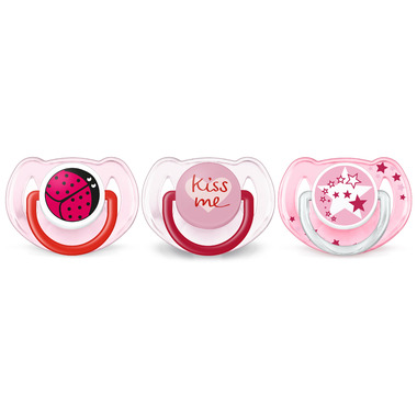 Philips AVENT Pacifier Value Pack Pink