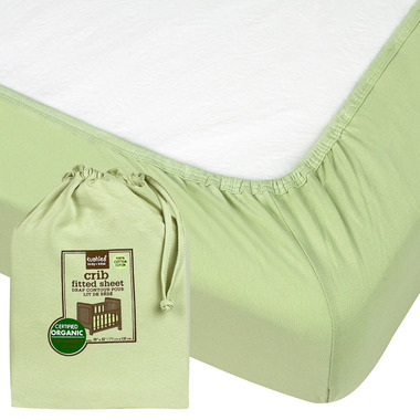 buy kushies organic jersey fitted crib sheet at well ca