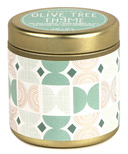 Paddywax Kaleidoscope Gold Tin Olive Tree & Thyme Candle