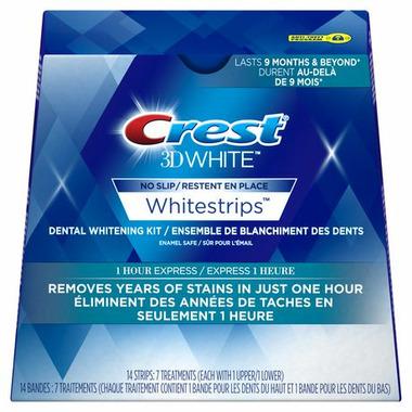Crest 3D White 1 Hour Express Whitestrips