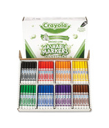 Crayola Broadline Washable Markers Classpack