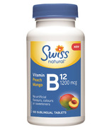 Swiss Natural Vitamin B12 1200 mcg