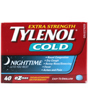Tylenol Cold Extra Strength Nighttime eZ Tabs