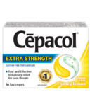 Cepacol Extra Strength Sucrose Free Lozenges