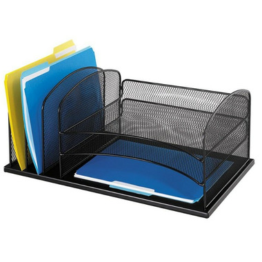 Buy safco horizontal mesh desk organizer at free - Safco mesh desk organizer ...