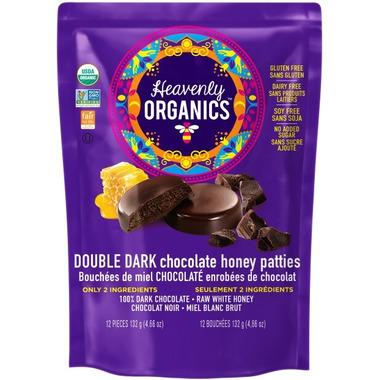 Heavenly Organics Double Dark Chocolate Honey Patties