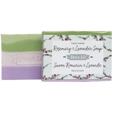 Dot & Lil Rosemary & Lavender Bar Soap