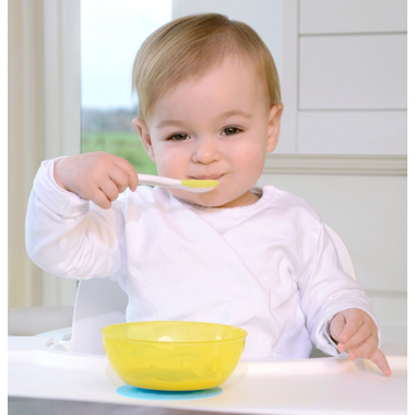 Kidsme Stay-in-Place Placemat & Bowl Set