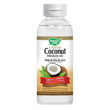 Nature\'s Way Liquid Coconut Oil