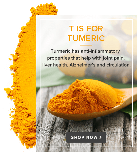 T is for Tumeric