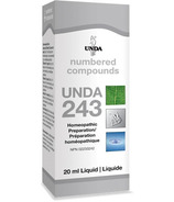 UNDA Numbered Compounds UNDA 243 Homeopathic Preparation