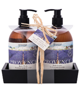 Brompton & Langley Exotic Retreats Provence Caddy Set Hand Wash & Lotion