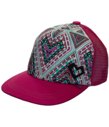 Calikids Trucker Hat Raspberry Combo