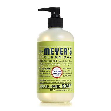 Mrs. Meyer\'s Clean Day Lemon Verbena Liquid Hand Soap