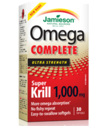 Jamieson Omega Complete Super Krill Ultra Strength
