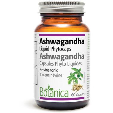 Botanica Ashwagandha Liquid Phytocaps (Certified Organic)