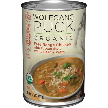 Wolfgang Puck Organic Free Range Chicken with Tuscan White Beans & Pesto