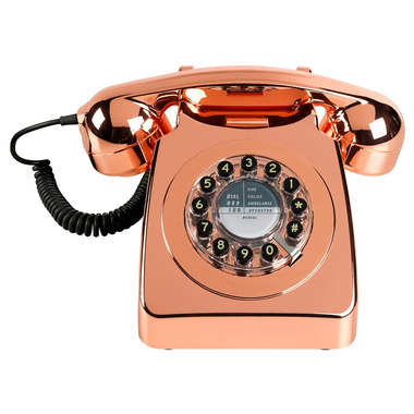 Wild & Wolf 746 Phone Copper