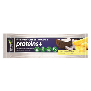 Genuine Health fermented GREEK YOGURT proteins+ Bar Pineapple Coconut