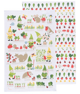 Now Designs Gnome Sweet Gnome Dishtowels Set