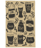 Now Designs Chambray Craft Brew Tea Towel