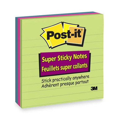 3M Post-it Super Sticky Lined Pads