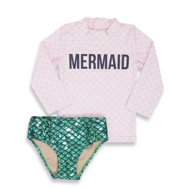 Shade Critters Rashguard Set Mermaid Off Duty