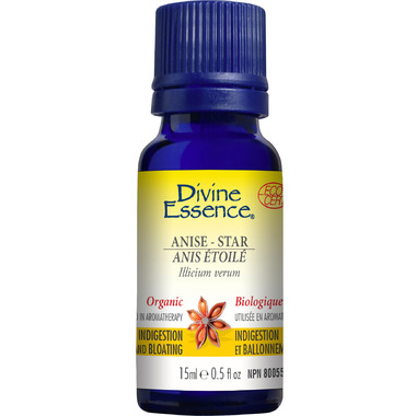 Divine Essence Star Anise Organic Essential Oil
