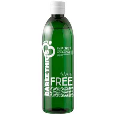 Bare Ethics Free Unscented Massage & Body Oil