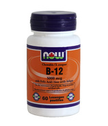 NOW Foods Chewable Vitamin B12 with Folic Acid