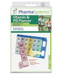 PharmaSystems Weekly Pill Planner with Removable Days