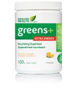 Genuine Health Greens+ Extra Energy