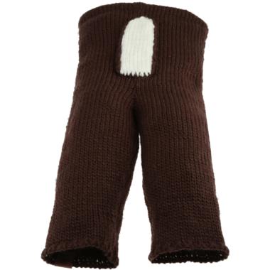 Bedford Road Brown Knitted Deer Tail Pants