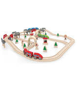 Hape Toys High & Low Railway Set