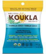 Koukla Delights Vanilla Coco Organic Macaroons Mini Pack