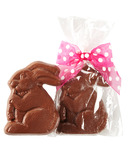 Dufflet Natural Milk Chocolate Easter Bunny