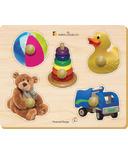 Edushape Large Knob Wooden Puzzle Toys
