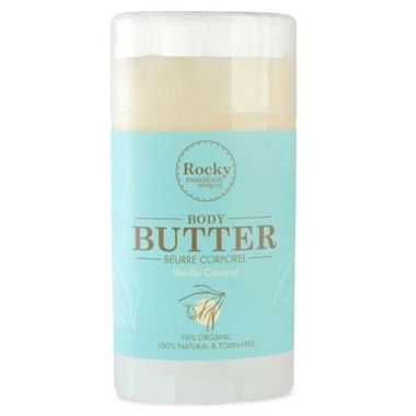 Rocky Mountain Soap Co. Vanilla Coconut Body Butter