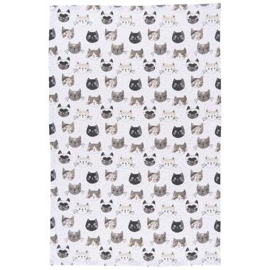 Now Designs Cats Meow Print Tea Towel