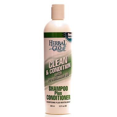 Herbal Glo Clean & Conditioner Shampoo Plus Conditioner