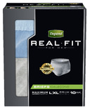 Depend Real Fit for Men Maximum Absorbency Briefs