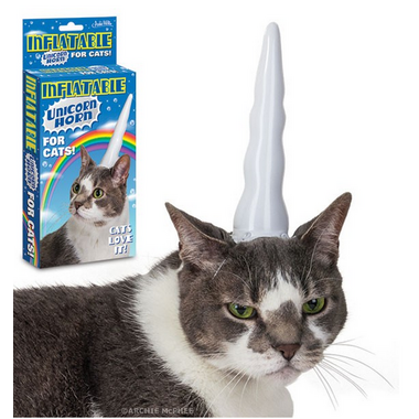 Accoutrements Unicorn Horn For Cats