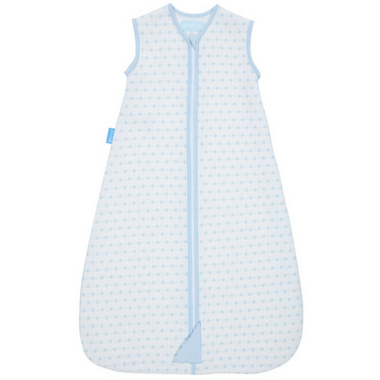 Grobag Baby Sleep Bag 2.5 Tog Jacquard Blue Squares